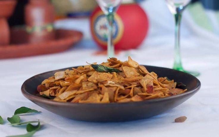 Vagharela Rotli Recipe (Roti Ka Poha)