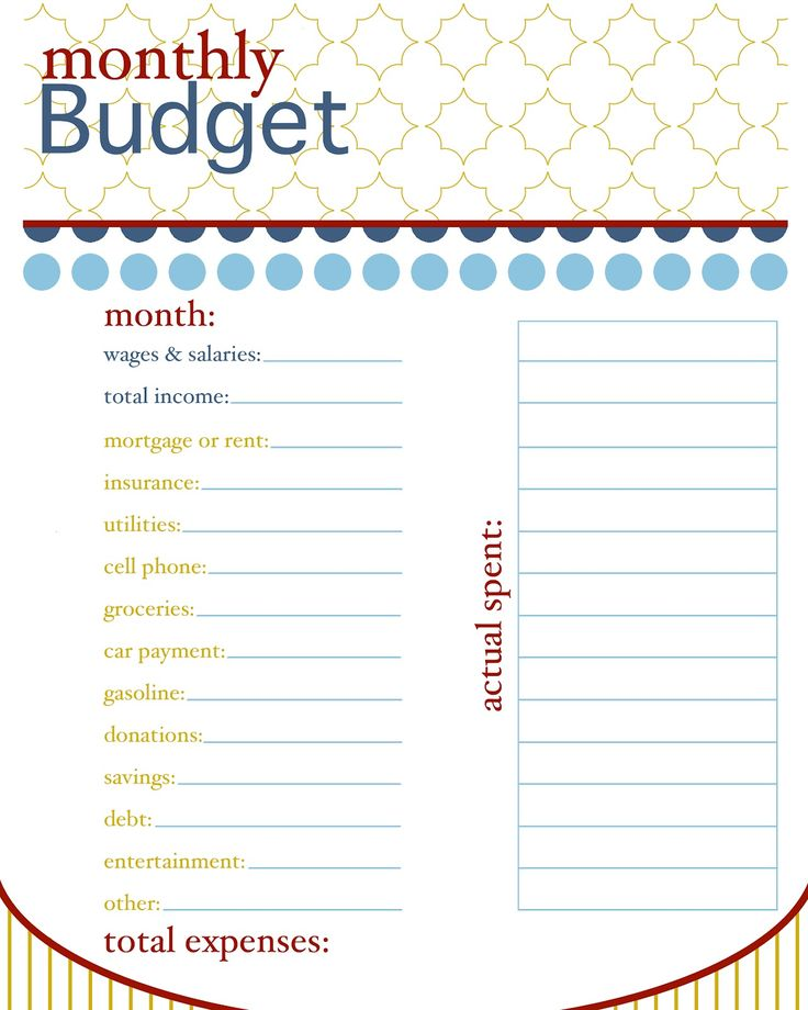 74 best Money talk images on Pinterest Frugal, Save my money and - free printable budget planner