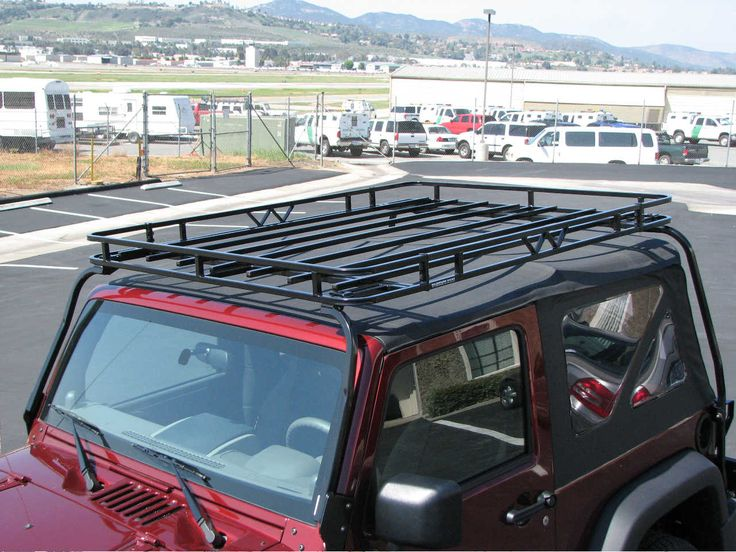 Wilderness Roof Racks are specifically engineered to meet the challenges and abuse of offroad. Haul more essential gear while allowing easy convertiblity of your soft top. The Rack has an engineered tilting feature that enables two people to raise an unloaded rack to put the soft top up and down.