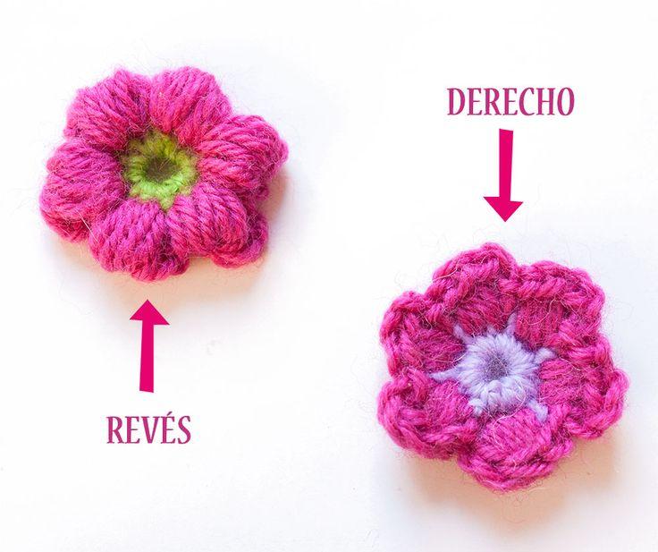 Hacer Flores De Ganchillo - Decoración Del Hogar - Prosalo.com