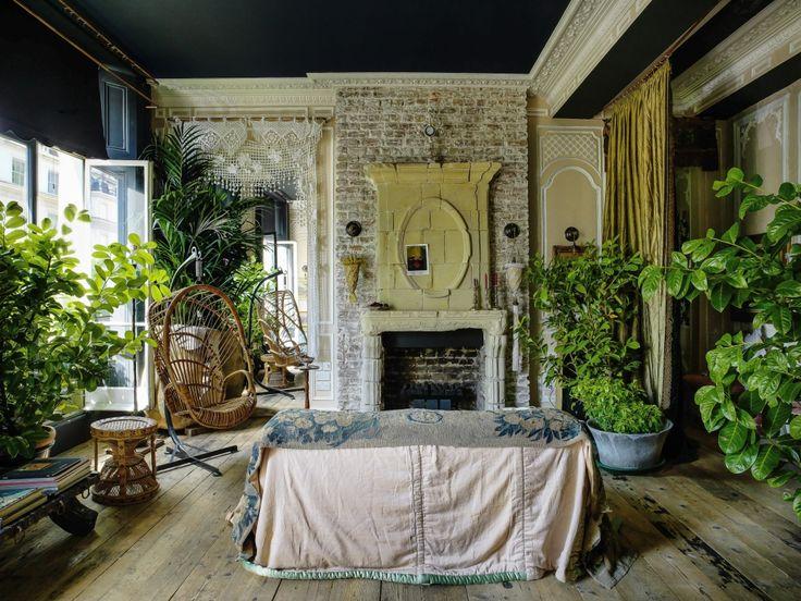 Les 25 meilleures id es de la cat gorie miroirs de jardin sur pinterest - Idee deco charmant huis ...
