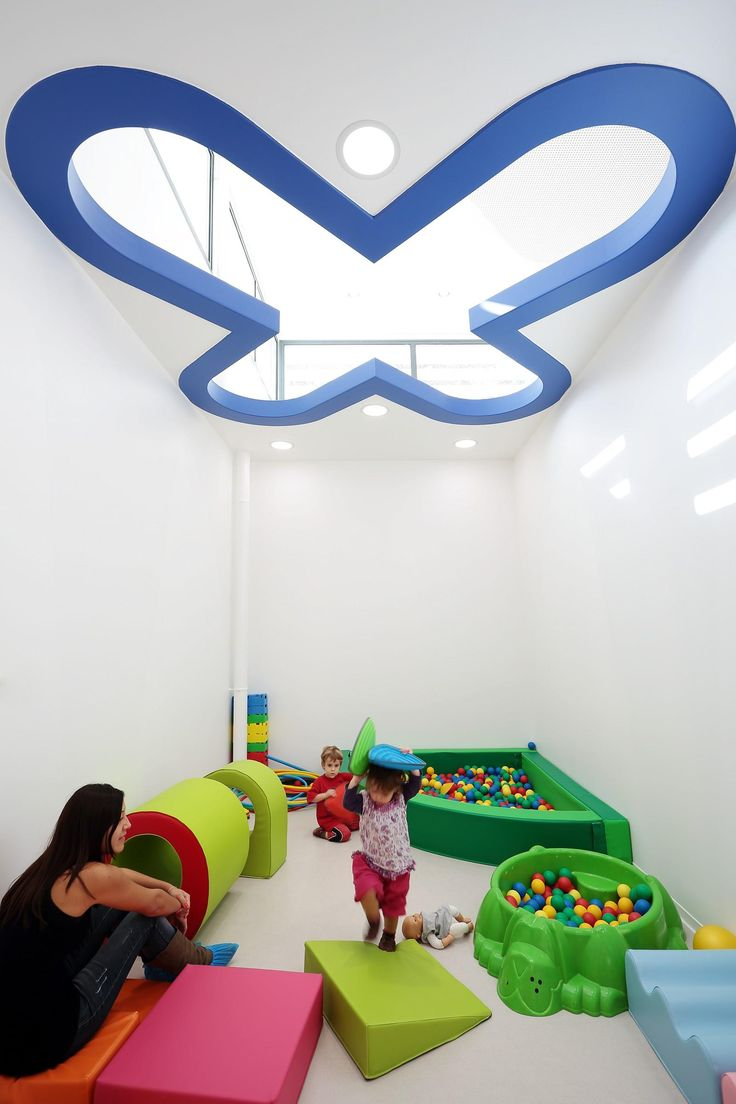 Unique Classroom Decor ~ This fun filled childcare center is like a big toy box