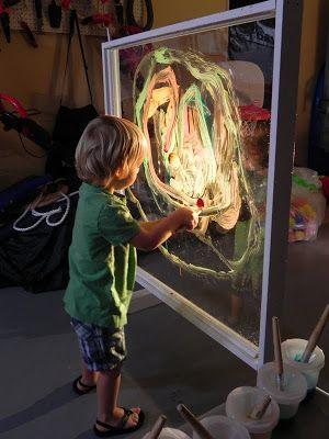 Tableau en plexiglass - Peinture sur vitre