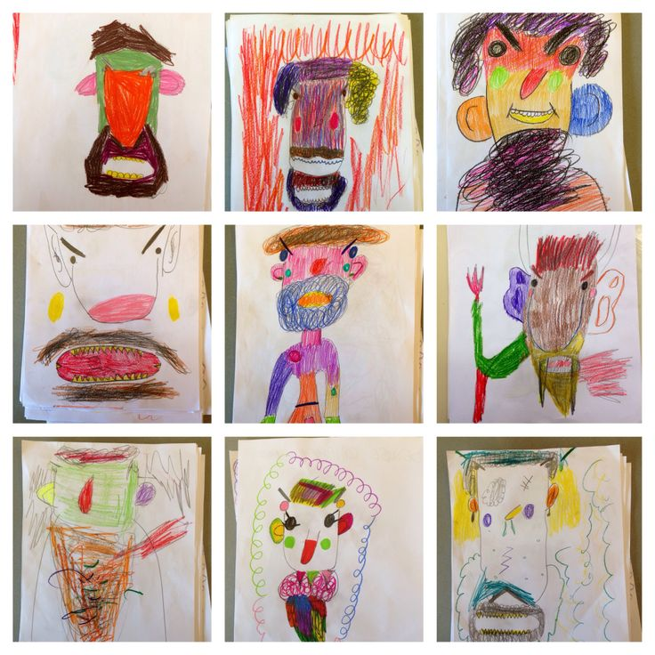 Monsters by 8 years old children