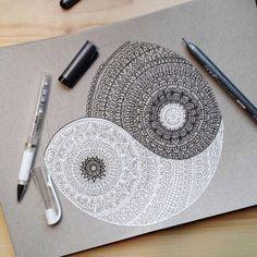drawing art hippie hipster indie Grunge patterns Sketch bohemian yang boho fashion boho chic ying ying and yang boho blog