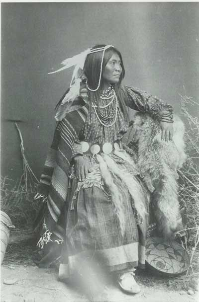 """Apache Woman"" c. 1890  Southern Arizona Courtesy of the Arizona Pioneer Histroical Society"