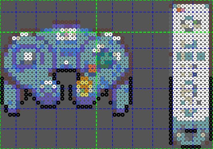 Gamecube controller and Wii Perler Pattern by Fallenherosrevive on deviantART