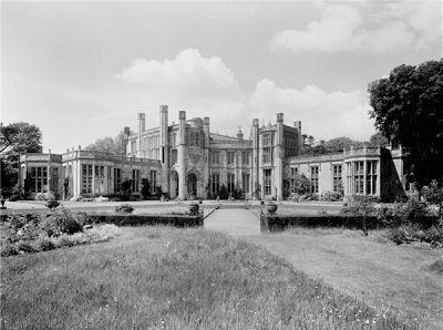 Highcliffe Castle, Dorset. Leased by Harry Selfridge from 1916-1922.