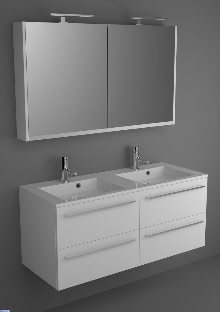 Riho Badkamermeubel Broni 120 cm met spiegelkast