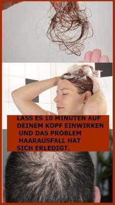 Lass Es 10 Minuten Auf Deinem Kopf Einwirken Und Das Problem