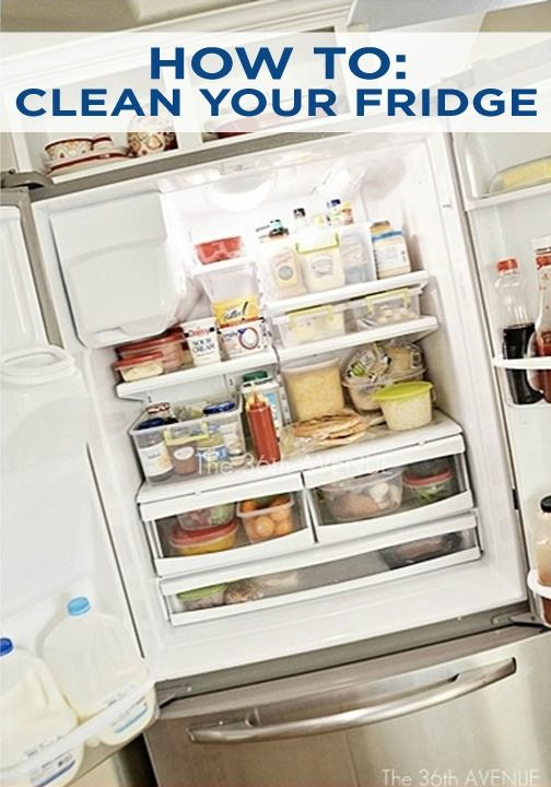 It's time for spring-cleaning! Use this tutorial to clean out your fridge and keep it that way all year long!