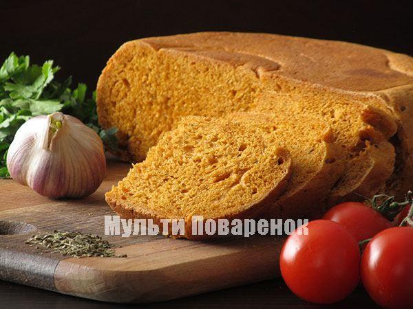 Томатно-pжаной хлеб со сладкой папpикой в мультиваpке
