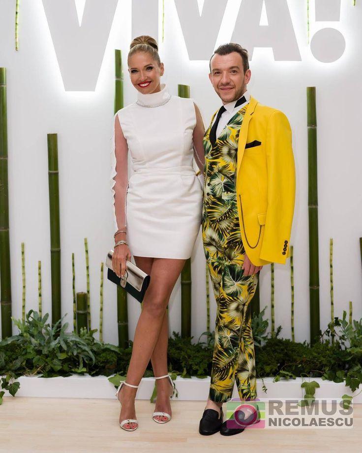 At the Viva Party 2016 #IleanaBadiu #StephanPelger #VivaParty #Fashion #2016