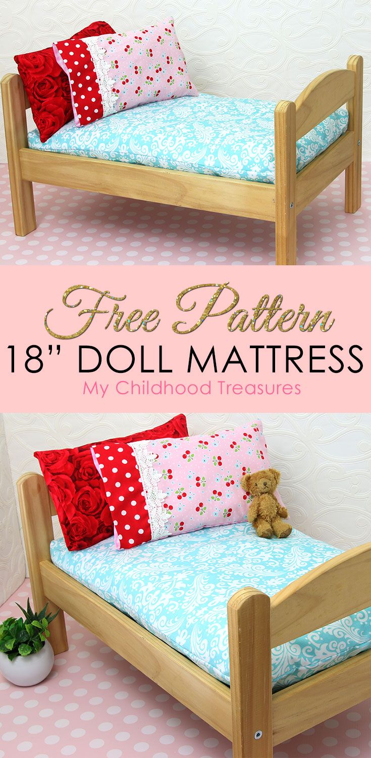 How To Make A Doll Mattress Diy Pattern