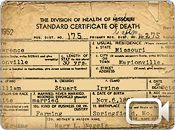Missouri Death Records ... actual death certificates. More than 6.8 million records can be accessed through Missouri Digital Heritage, including the collections of the Missouri State Archives, the Missouri State Library and more than 50 institutions from across the state.