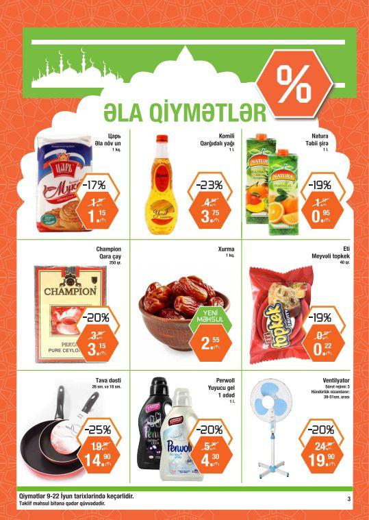 BRAVO-DA ƏLA QİYMƏTLƏR! Müxtəlif qida və qeyri-qida məhsullarını 25%-dək güzəştlərlə alın! BEST PRICES AT BRAVO! Save up to 25% off when you buy various food and non-food products!