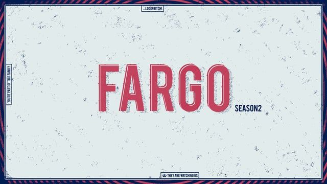 This is a tribute to Fargo Season 2 Illustration - Enisaurus Animation - Sandra Clua Sound design and music - César Timón
