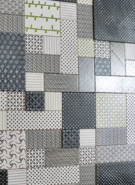 Made a Mano patchwork tiles (different collections) - www.madeamano.it
