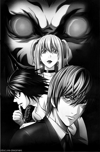 Death note I think light is cute