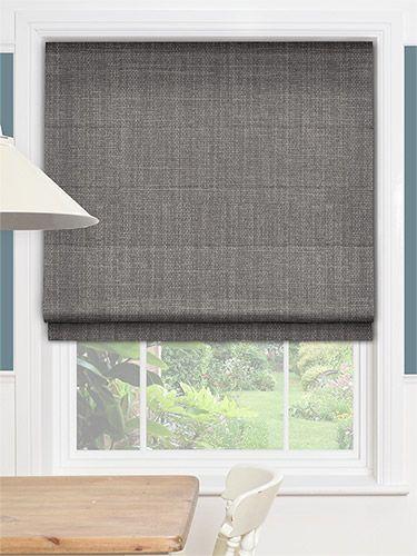 cavendish tonal grey roman blind roman grey and roman. Black Bedroom Furniture Sets. Home Design Ideas