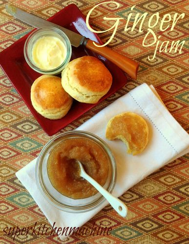 Gift this! Thermomix Ginger jam #recipe - quick & easy with just 2 ingredients More #Thermomix gifting ideas at: http://www.superkitchenmachine.com/2012/17688/thermomix-gift-recipe.html