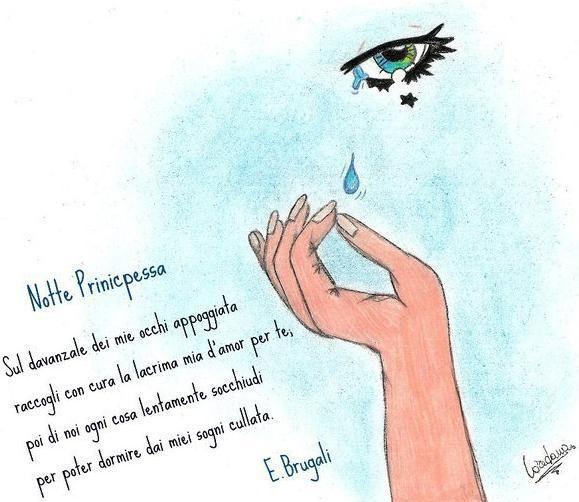 """""""Notte Principessa"""" nel disegno di Loredana Brugali"""