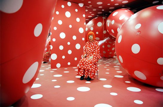 yayoi_kusama_pour_louis_vuitton_7855_north_545x: Louis Vuitton, Body Parts, The Artists, Polkadot, Artists Pieces, Yayoi Kusama, St. Louis, Louise Vuitton, Polka Dots Patterns