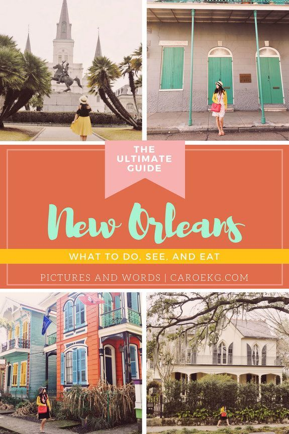 3 Days in New Orleans: What to Do, See, and Eat // New Orleans Travel Guide, What to do in New Orleans, New Orleans Activities, New Orleans City Guide, New Orleans Tips, New Orleans, Louisiana, USA #SouthAmericaTravelNewOrleans