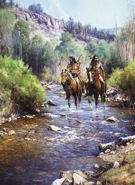 Somerset Fine Art - When Horses Leave No Tracks by Martin Grelle