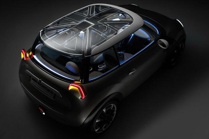 Mini Cooper Rocketman Concept Car Top View