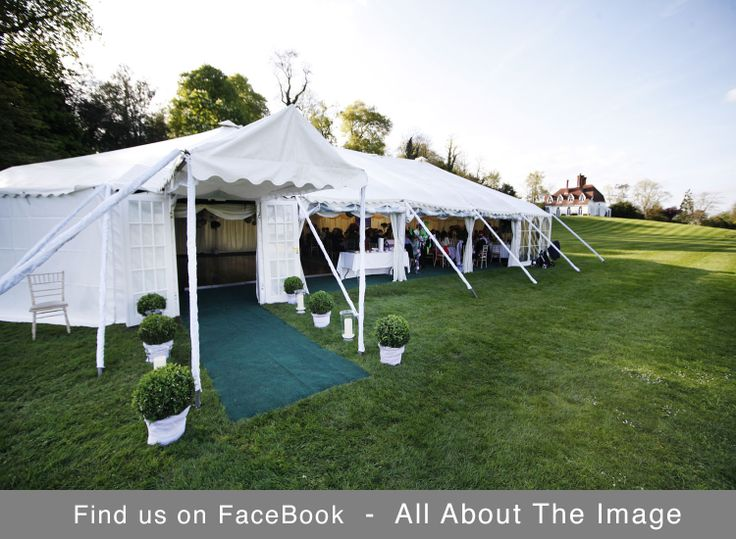 Houghton Lodge in Hampshire makes a wonderful wedding marquee setting alongside the River Test ...