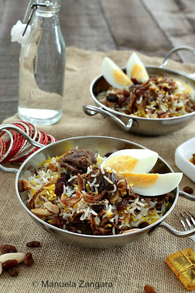 The recipe for a classic of North Indian cooking: Mughlai Lamb Biryani!