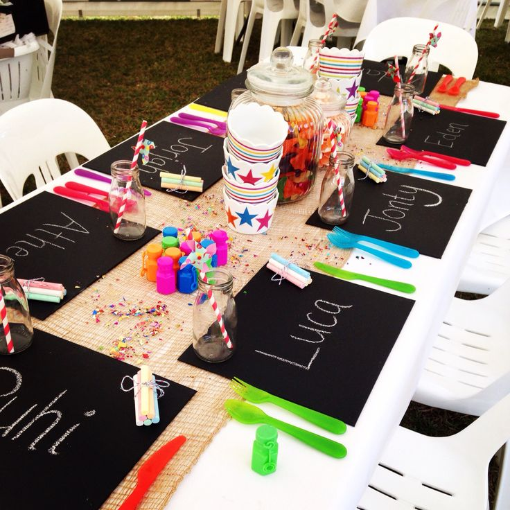 I was in charge of the kids table at my sisters wedding...the kids loved it