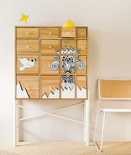 17 meilleures images propos de meubles relook s sur for Meuble customise peinture
