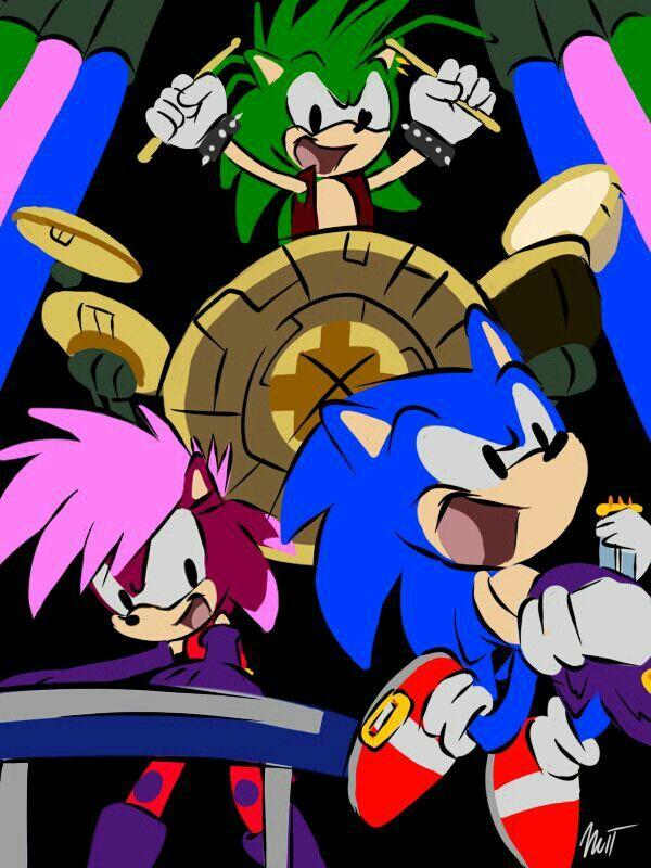 Sonic Underground/Sonic le rebelle.