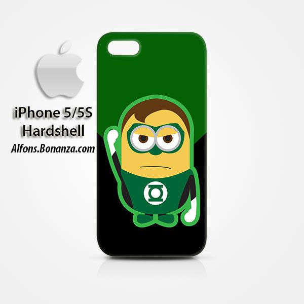 Green Lantern Minion iPhone 5 5s Hardshell Case
