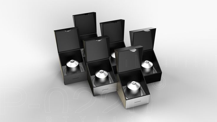 Emballage Capsules de café / Packaging Coffee Capsules designed by Pozzo di Borgo Styling.