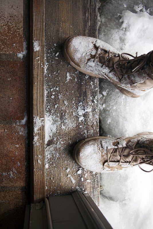 ⭐ brown white . feet winter . 201606