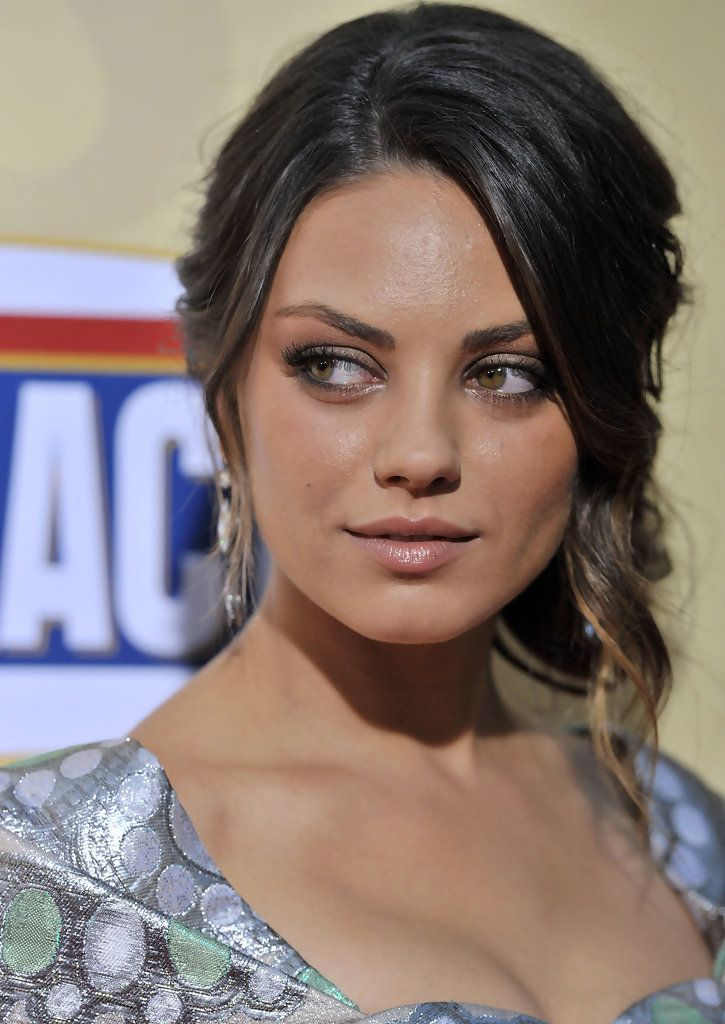 368 best mila kunis images on pinterest artists beautiful and mila kunis lookbook mila kunis wearing pinned up ringlets 4 of 11 pmusecretfo Image collections
