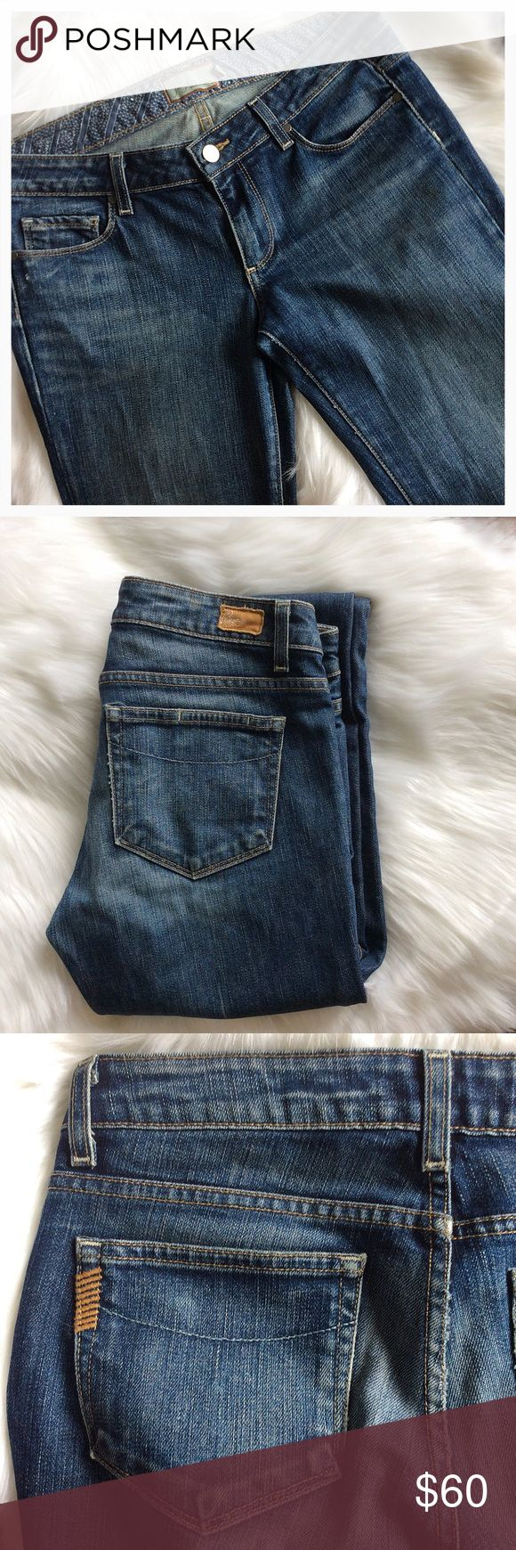 PAIGE Premium Denim Jeans Bootcut ~ Low Rise ~ Only worn 2-3 times at most.  GREAT JEANS👌🏼 Paige Jeans Jeans Boot Cut