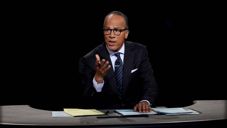 PRESIDENTIAL DEBATE: LESTER HOLT JUST GAVE HILLARY A FREE PASS IN FRONT ...