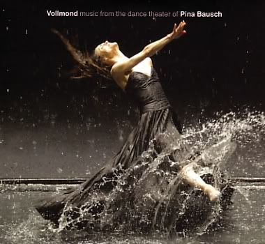soundtrack cover for wim wenders 3-D dance film 'Pina' . pina bausch the choreographer and visionary who reveled in experimentation and creative risk taking.