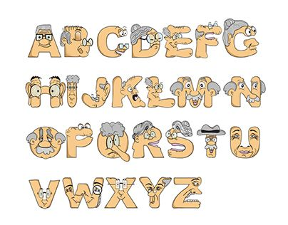"Check out new work on my @Behance portfolio: ""Old Age Home Alphabet"" http://be.net/gallery/33347509/Old-Age-Home-Alphabet"