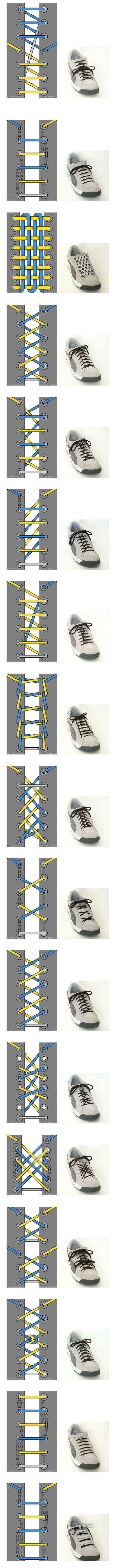 신발 끈 묶는 방법