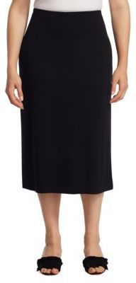 Eileen Fisher, Plus Size Wool Midi Pencil Skirt