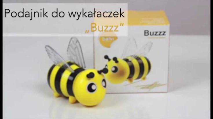 """Pszczółka Maja - Balvi: Pojemnik - podajnik do wykałaczek """"Buzzz"""" #podajnik #wykałaczki #johnny #wykałaczka #toothpick #holder #produkcja #pszczółka #maja #bee #beesintrees #beegees #miód #nataliaprzybysz #honey #honeymoon #wodecki #pszczoły #ideas #rój #gadżety #pomysł #prezent #święta #christmas #buzzfeed #kuchnia #gotowanie #balvi #onemarket.pl"""