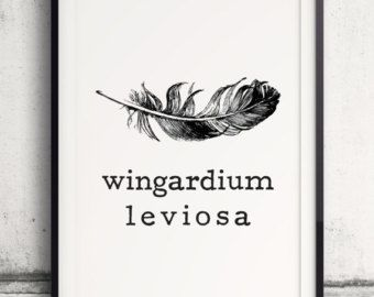 61 best cool stuff images on pinterest words projects and random wingardium leviosa poster harry potter poster the prisoner of azkaban harry potter spell fandeluxe Gallery