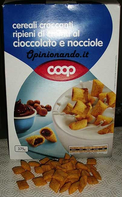 Coop cereali croccanti Scatola - #Opinionando #Recensione