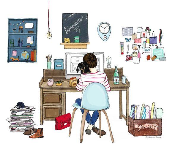 Clémence Monot, illustratrice, agence Marie Bastille @C Lémence Monot // cette image appartient à son auteur et/ou l'agence Marie Bastille + d'infos sur le site //