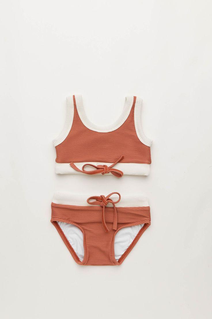 Mini Rib Bikini in Rose   Zulu and Zephyr Mini Shop in store or online at www.saltliving.com.au #saltliving #zuluandzephyr #mini